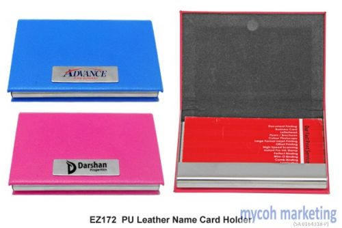 Mycoh marketing cheapest deals on corporate giftsuniforms and pu leather name card holder reheart Images